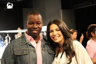 Backstage Beauty: Carmen Marc Valvo Spring 2011