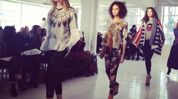 New York Fashion Week Fall-Winter 2014 with Diego Binetti