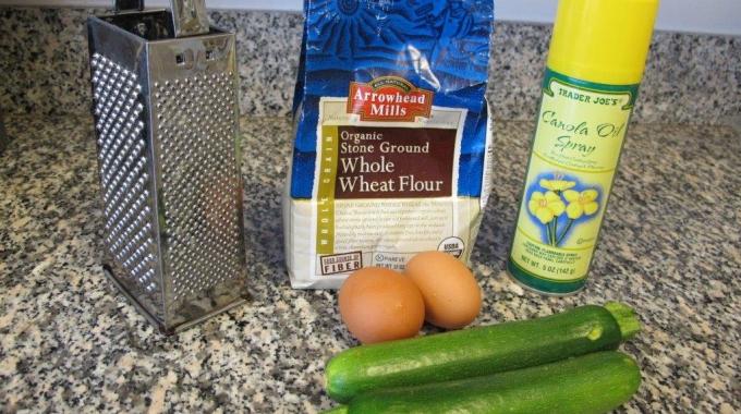 Lily's Zucchini Pancake Recipe